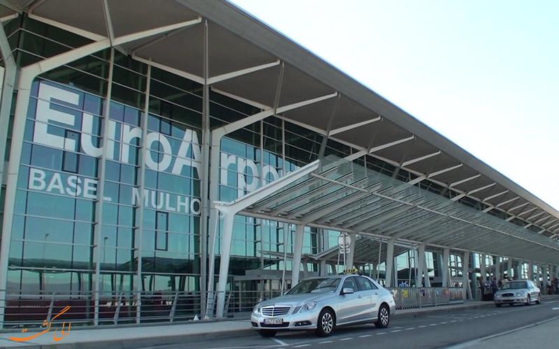 راه های دسترسی به فرودگاه بین المللی بازل