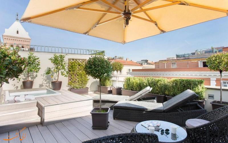 هتل 4 ستاره ارتمید رم