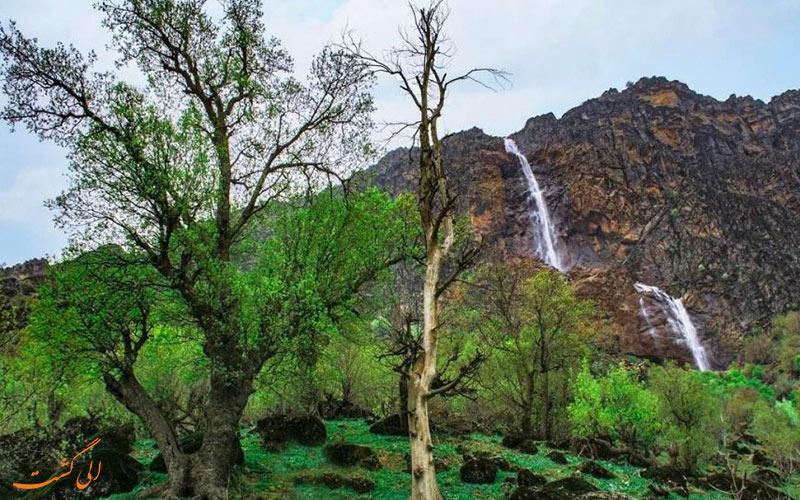 آبشار برنجه شول آباد