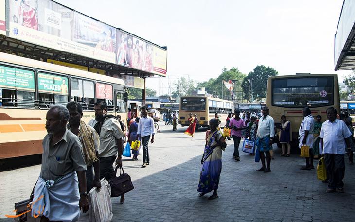 اتوبوس شهر چنای