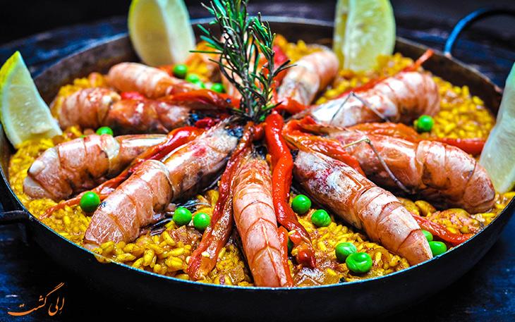 هزینه خورد و خوراک در والنسیا