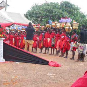 مراسم تدفین در غنا