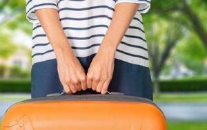 چمدان بستن برای پرواز
