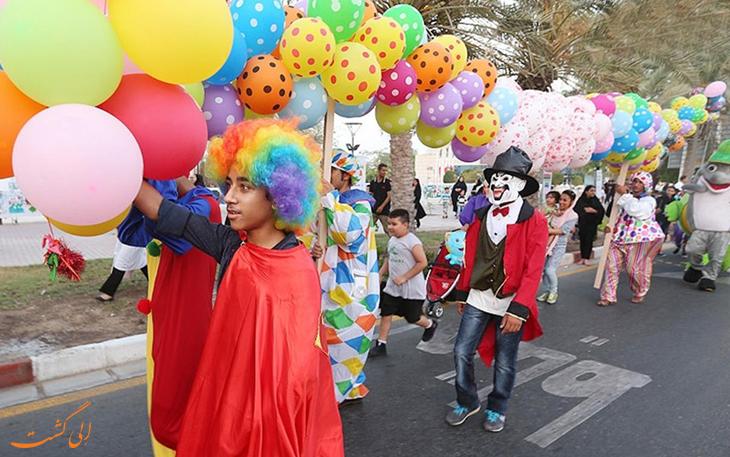 برنامه های مفرح در جشنواره تابستانی کیش