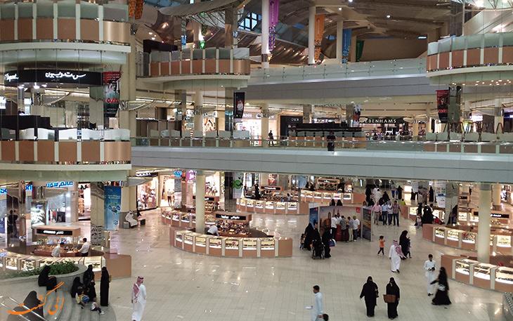 مراکز خرید شهر دوشنبه