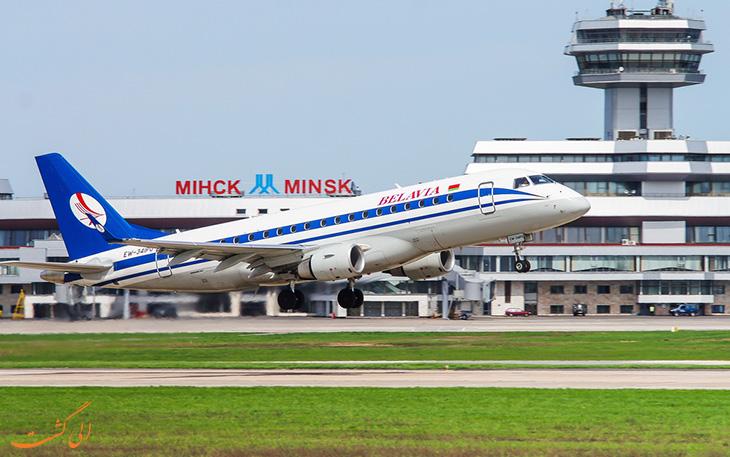 حمل و نقل فرودگاه مینسک