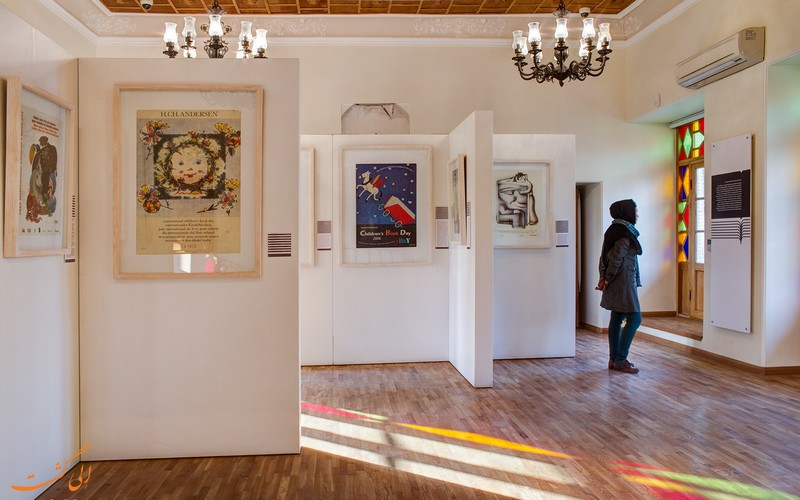 موزه گرافیک در شرق تهران