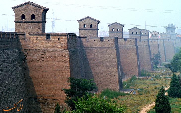 دیوار بزرگ شهر پینگ یائو