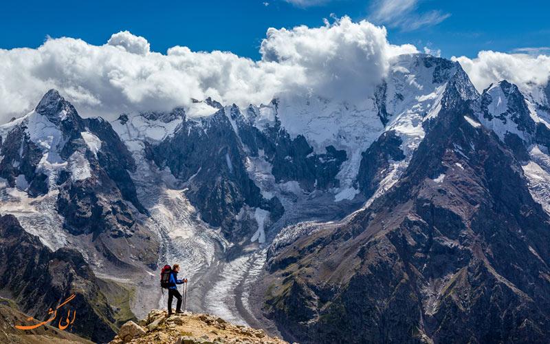 رشته کوه های قفقاز