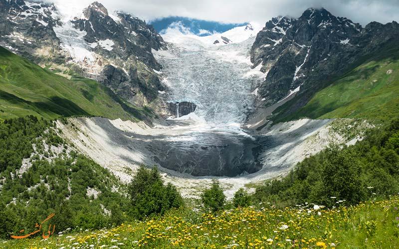 طبیعت گردی در کوه های قفقاز