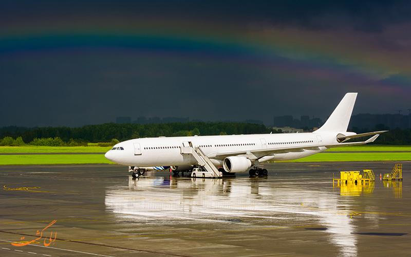 هواپیمایی در فرودگاه