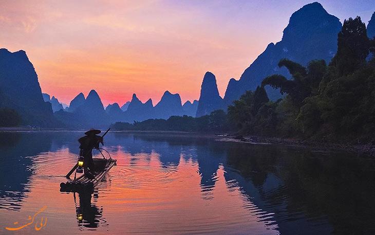 شهر گویلین در چین