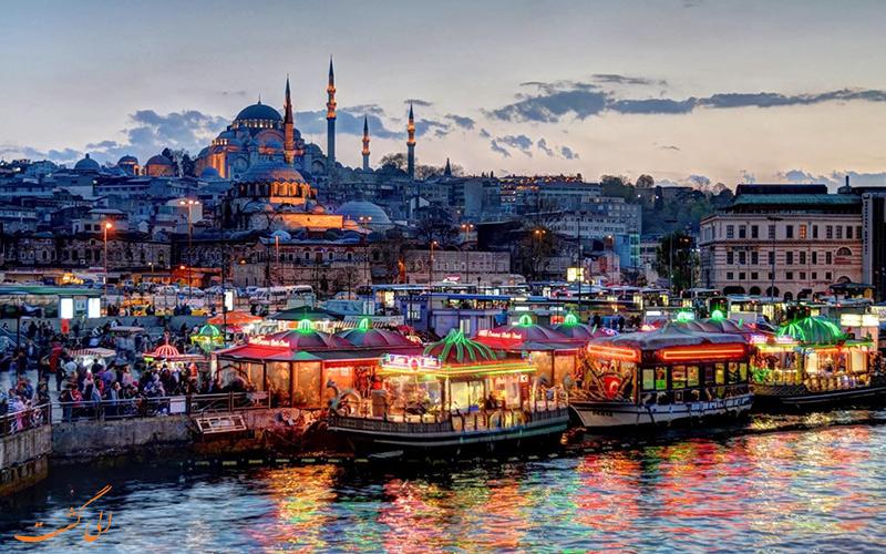 سفر زمینی به ترکیه