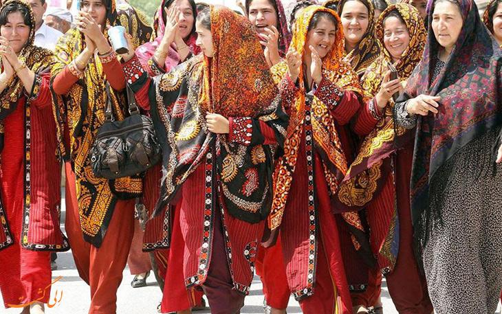 عروسی در ترکمنستان