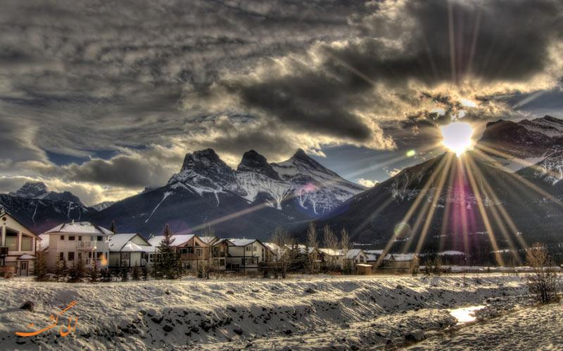 رشته کوه های سه خواهر | Three Sisters Mountain Range