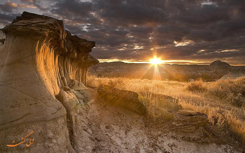 پارک ایالتی دایناسور | Dinosaur Provincial Park