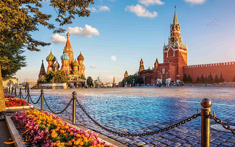 بزرگترین کشورهای جهان رتبه اول: روسیه