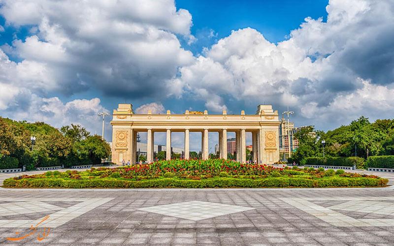 باغ های زیبای مسکو