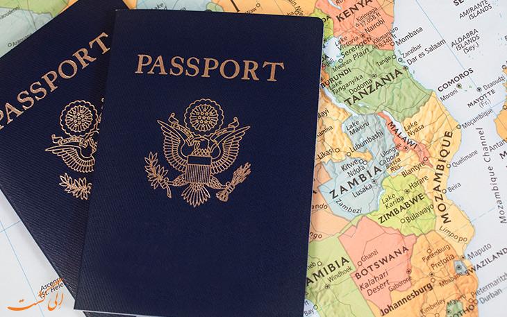 چطور پاسپورت بگیریم؟