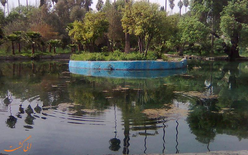 باغ چشمه بلقیس در استان چهارمحال و بختیاری
