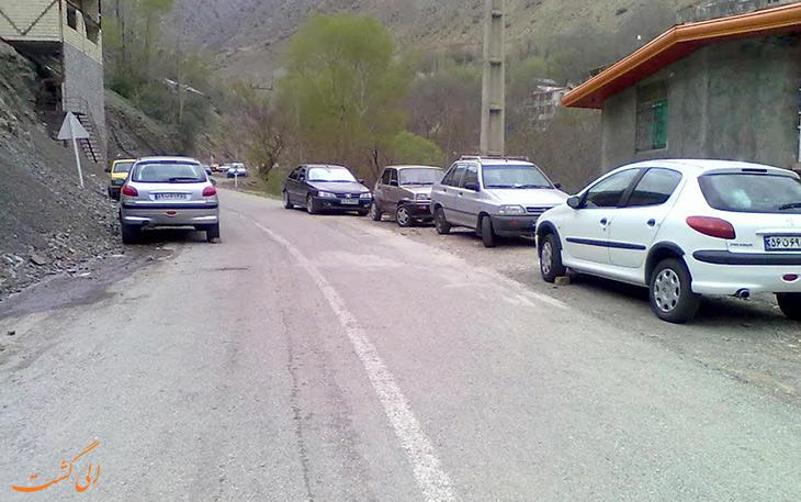 روستای همه جا در جاده چالوس
