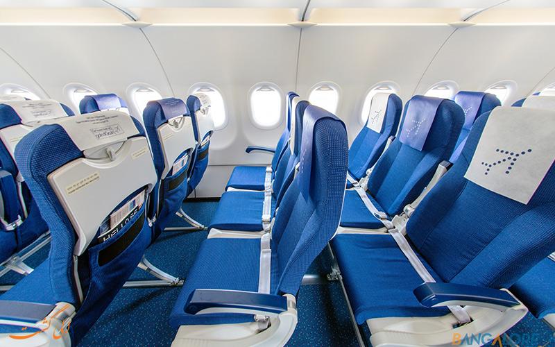 کوچکتر شدن صندلی هواپیماها