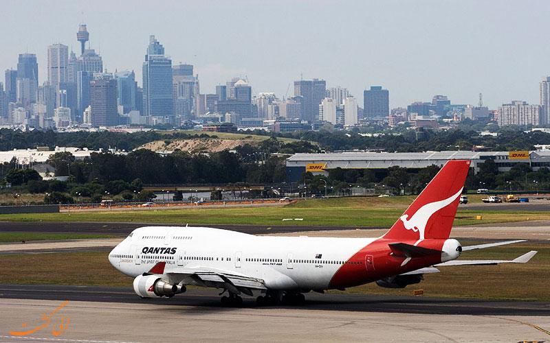 پرواز های فرودگاه سیدنی