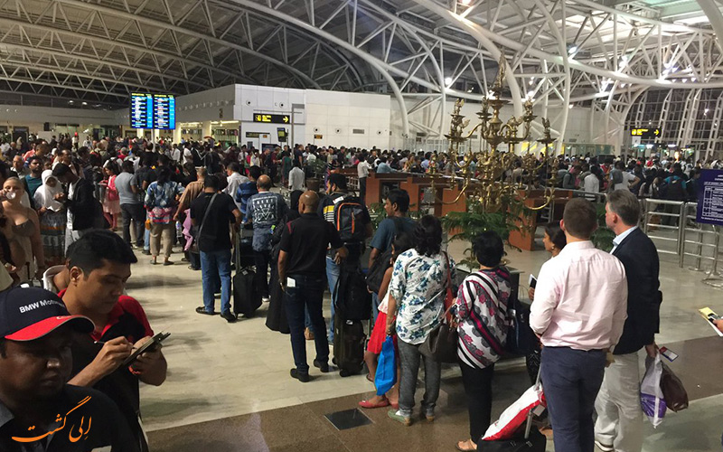 تاریخچه ی فرودگاه بین المللی چنای