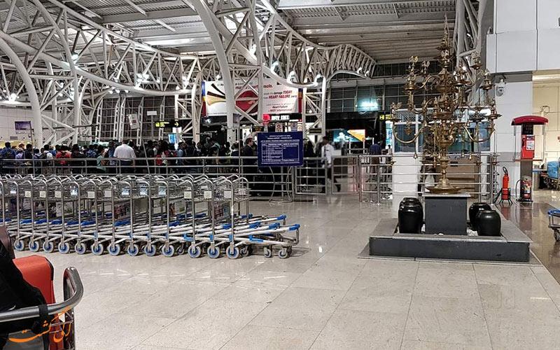 اطلاعات فرودگاه بین المللی چنای