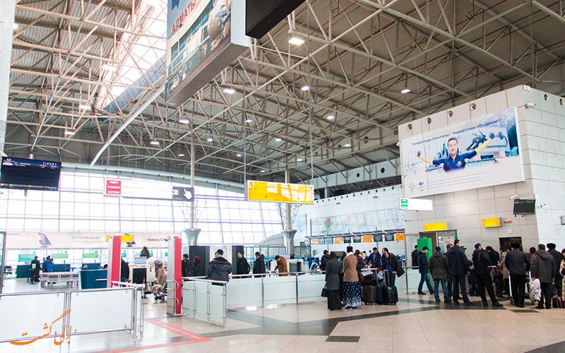 راه های دسترسی به فرودگاه بین المللی آلماتی