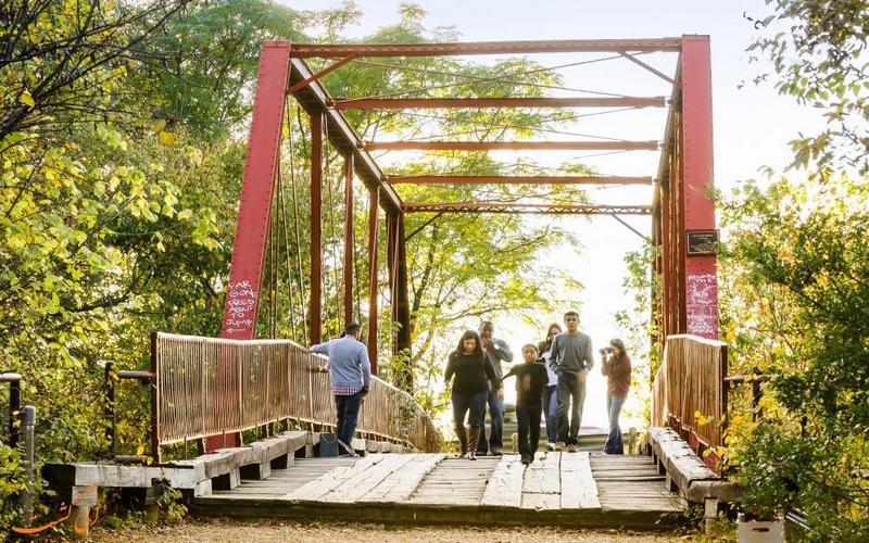 بازدیدکنندگان پل ارواح