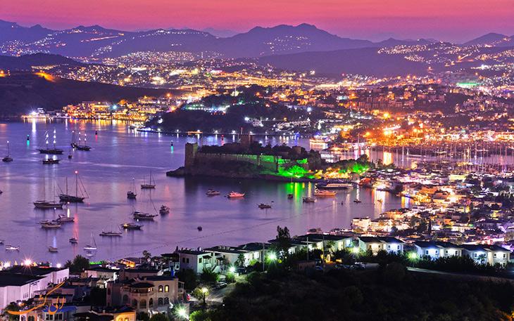 شهر بدروم در ترکیه