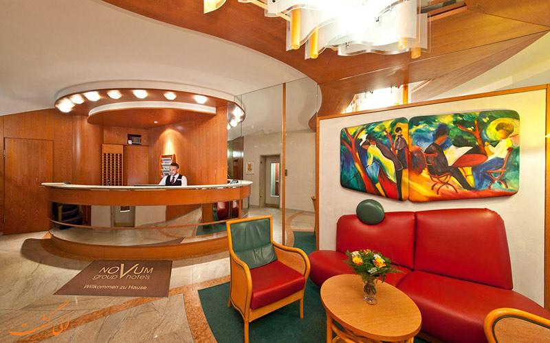 موقعیت هتل نووم بلوار اشتوتگارت سیتی