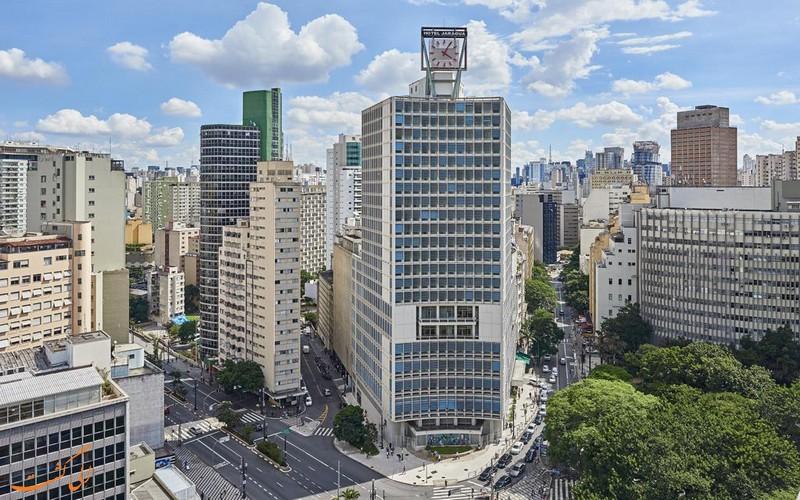 هتل نووتل در سائوپائولو برزیل