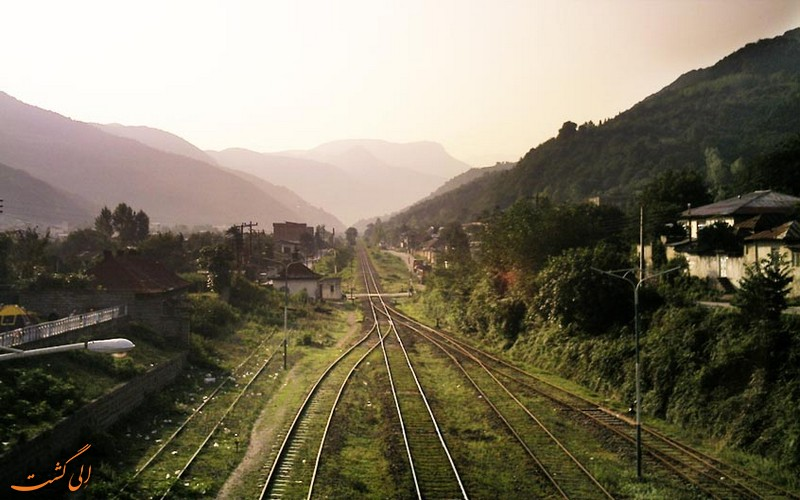 مسیر ریلی تهران شمال