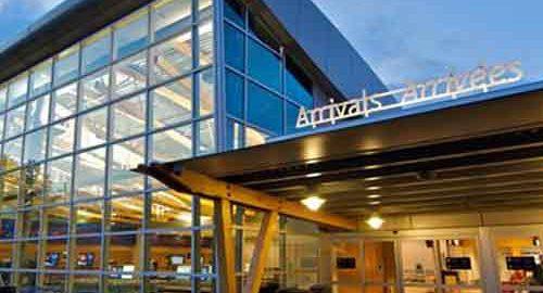 فرودگاه بین المللی ویکتوریا کانادا