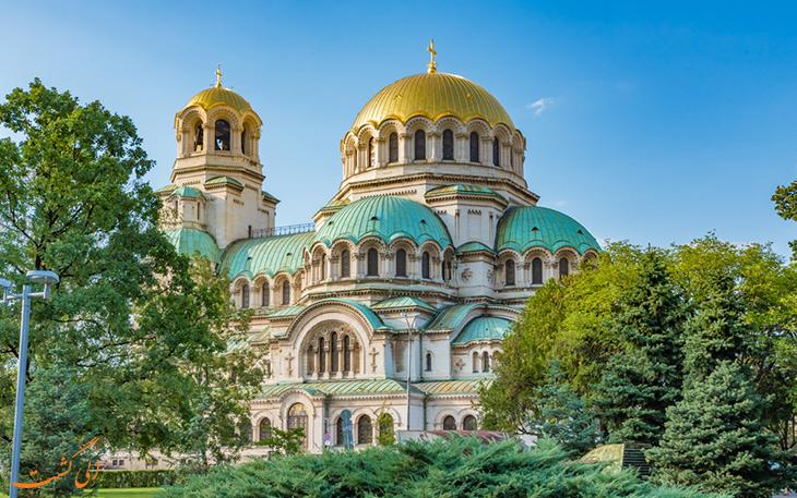 معماری کلیسای الکساندر نوسکی بلغارستان