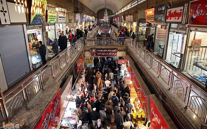 نمایی از بازار رضا مشهد