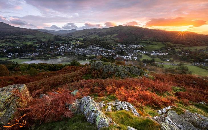 پارک ملی لیک دیستریکت در کشور انگلیس