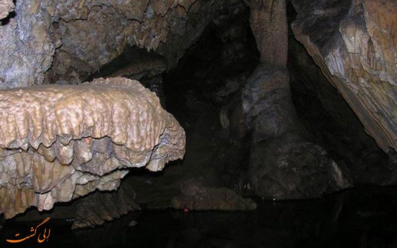 غار مغان یکی از جاذبه های طبیعی در مشهد