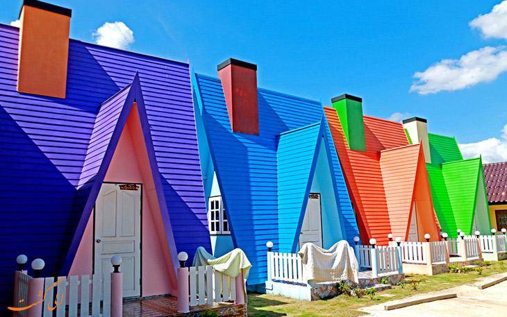خانه های رنگارنگ کیپ تاون