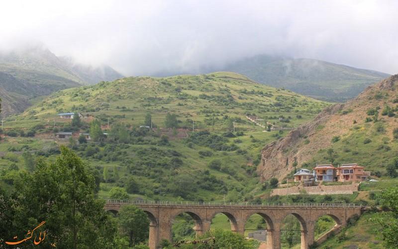 شوراب روستایی در مسیر تور قطار گردشگری شمال