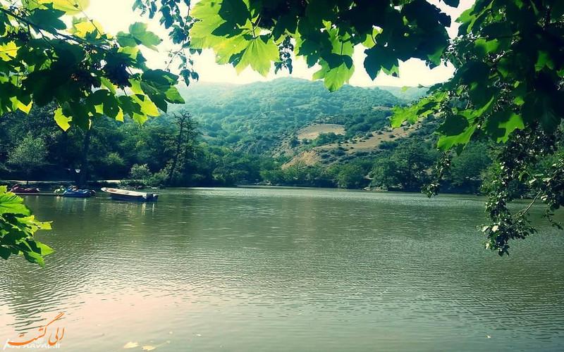 دریاچه شورمست سوادکوه تنها دریاچه طبیعی