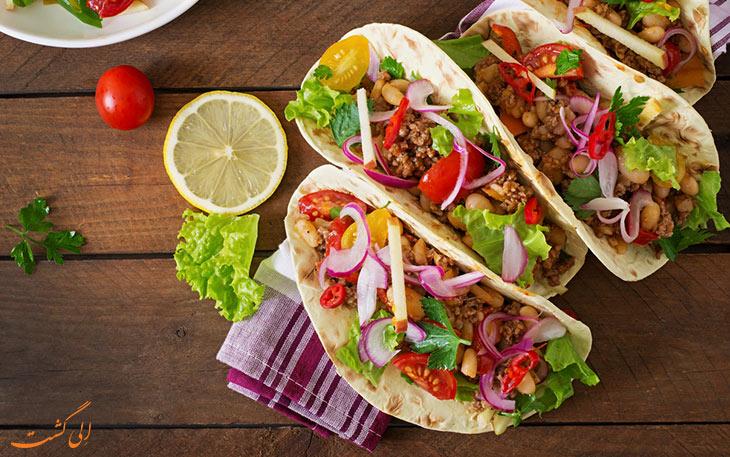 طرز تهیه تاکوی مکزیکی