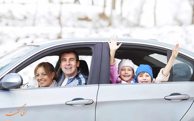 سفر با ماشین شخصی-سفرهای زمینی-دلایل خرید بیمه مسافرتی