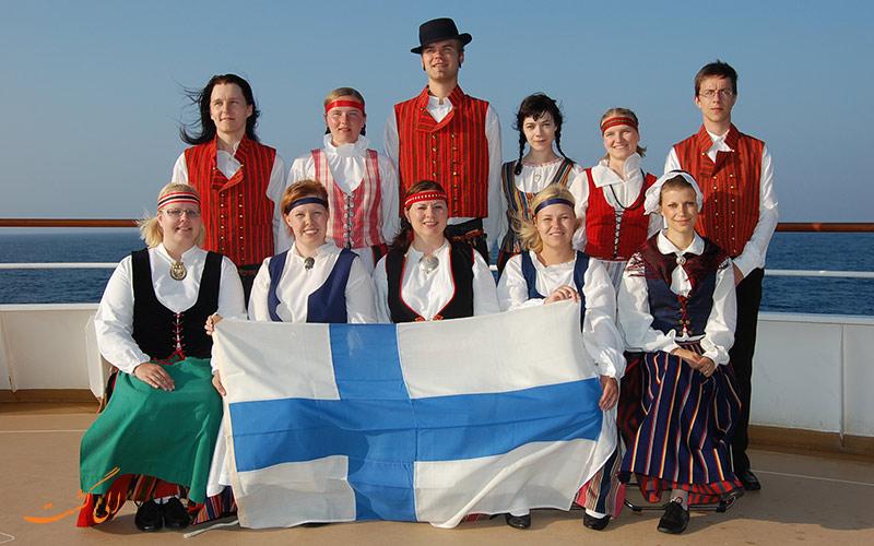 فنلاندی ها-شادترین مردم جهان