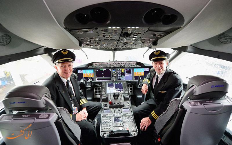 اطلاعیه های خنده دار خلبانان