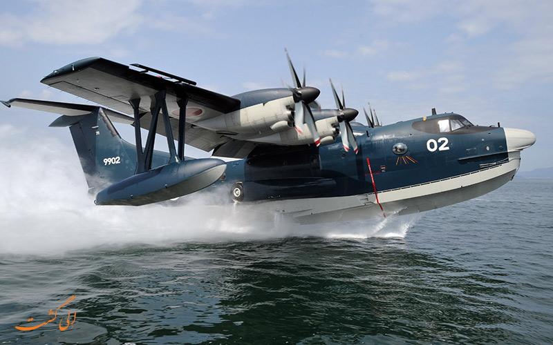 هواپیماهایی با قابلیت فرود روی آب