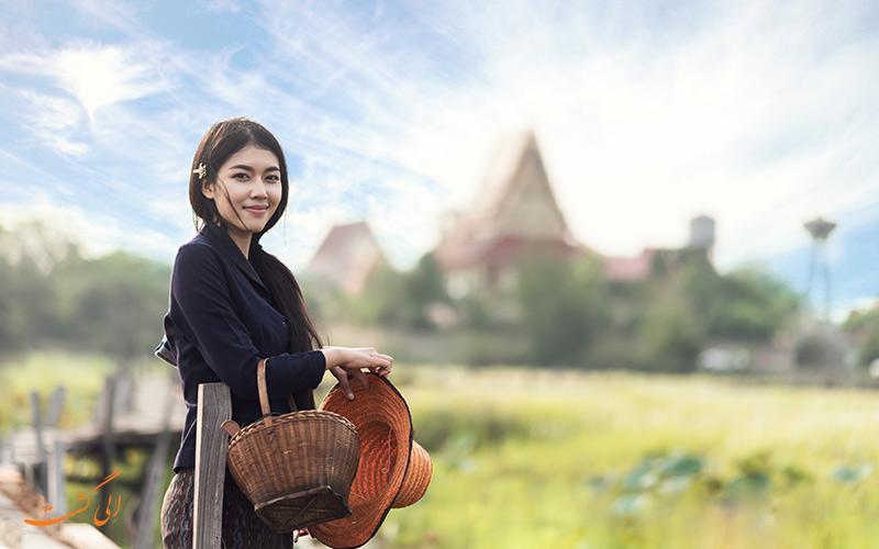 خانم تایلندی
