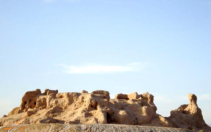 قلعه قهقه راور در کرمان